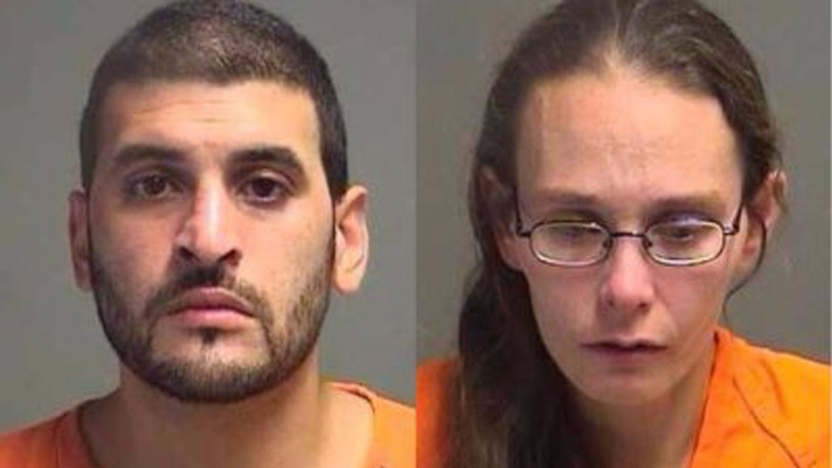 Arturo Novoa, left, 31, and Katrina Layton, 34, face charges in connection with a body found in a freezer.