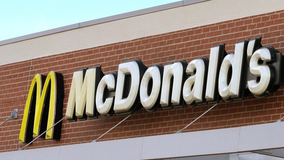 An explosion went off in a McDonald's in Orange County on Sunday and police were searching for the person of interest.