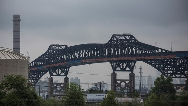 JERSEY CITY, NJ - JUNE 25:  The Pulaski Skyway is seen on June 25, 2014 in Jersey City, New Jersey. Investigators are examining potential securities law violations by the Port Authority of New York & New Jersey and Gov. Chris Christie's administration related to funding for ongoing repairs to the aging structure, according to published reports.  (Photo by Andrew Burton/Getty Images)
