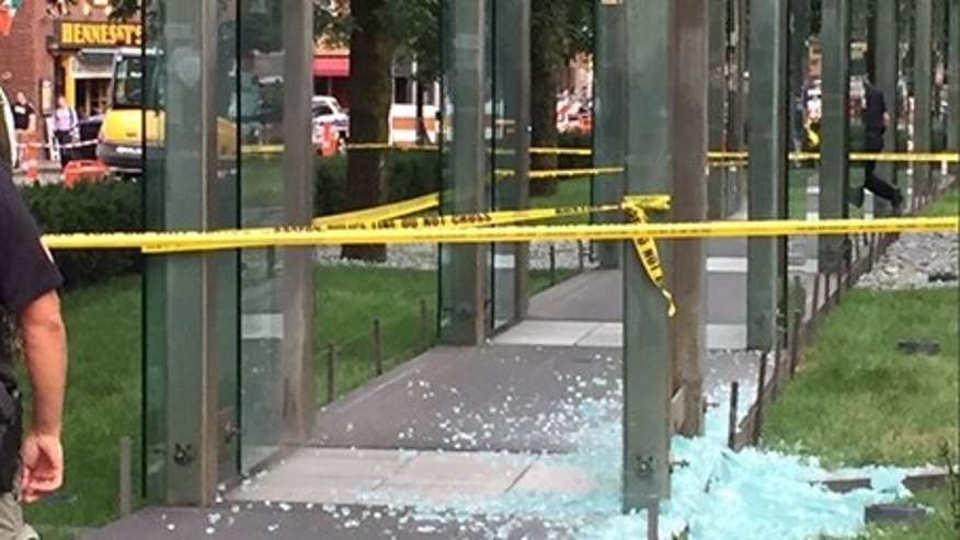 Boston police said one person was arrested for vandalizing the city's Holocaust memorial.