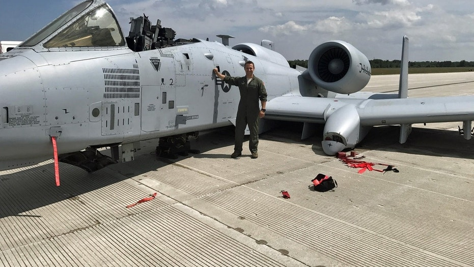 Capt. Brett DeVries an A-10 Thunderbolt II pilot of the 107th Fighter & Air Force pilot performs miracle landing with no wheels canopy ...