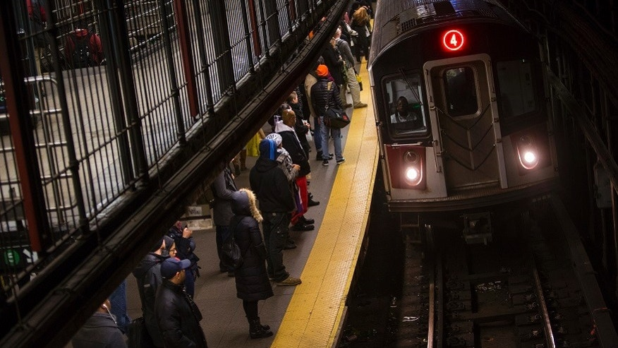 Woman pushed onto F train subway tracks on Lower East Side
