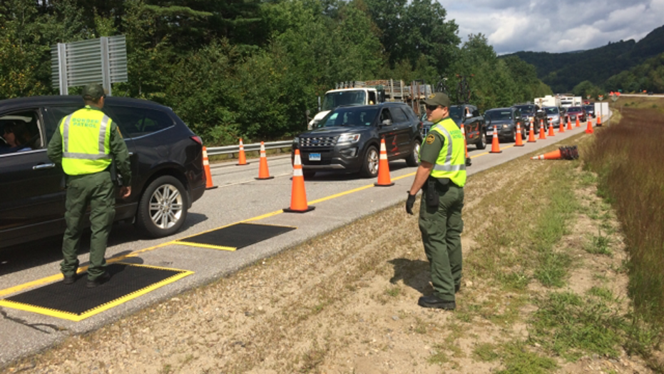 Border Patrol Checkpoint In New Hampshire Nets Arrests Of