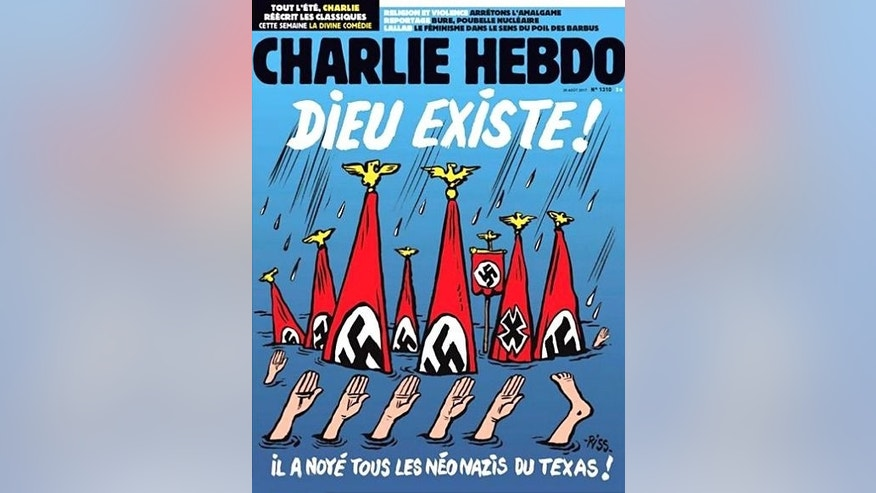 Charlie Hebdo Harvey Texas