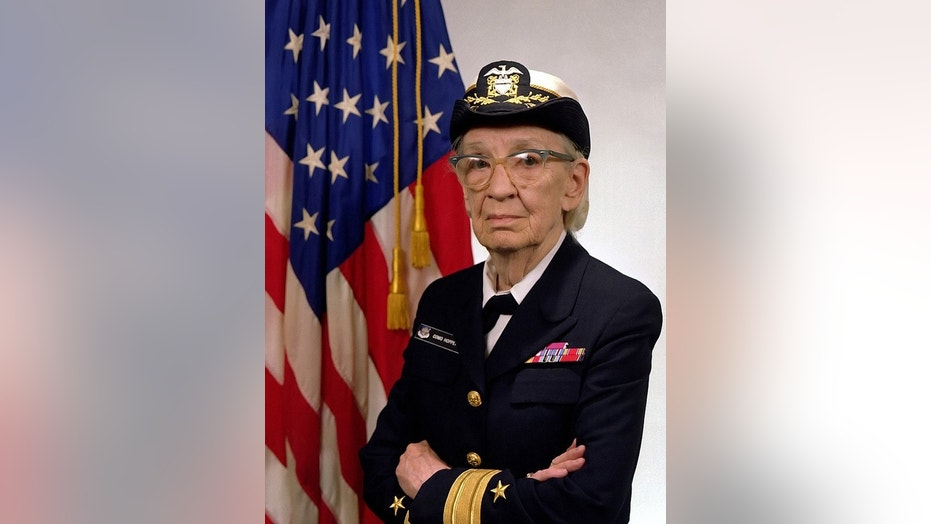 Commodore Grace Hopper, U.S. Navy, graduated from Yale University.