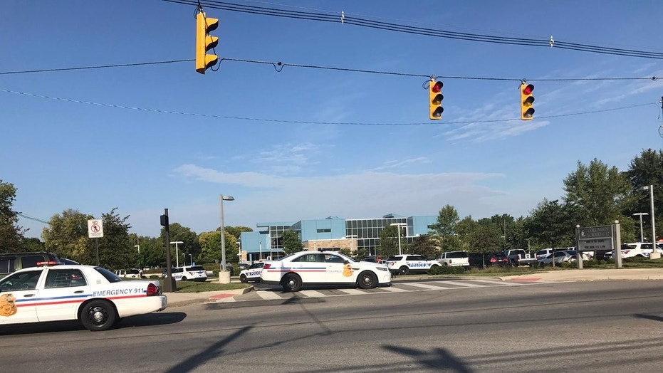 Police responded to Scioto High School in Columbus on Friday morning.