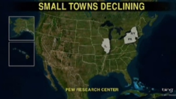 small town boom graphic decline