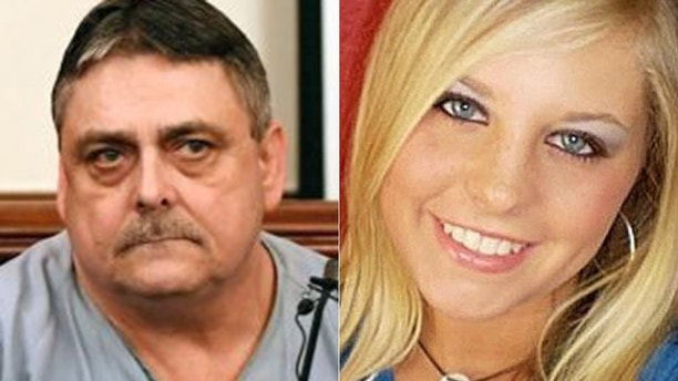 Terry Britt is asked questions by State prosecutor Jennifer Nicols during the Holly Bobo murder trial, Monday, Sept. 18, 2017, in Savannah, Tenn. Zachary Adams pleaded not guilty to kidnapping, raping and killing Bobo, who was 20 when she disappeared from her home in Parsons on April 13, 2011. (Kenneth Cummings/The Jackson Sun via AP, Pool)