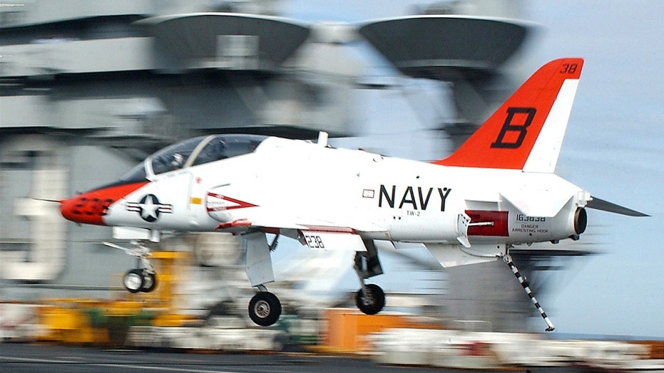 The U.S. Navy said a T-45 jet is believed to have crashed near Tellico Plains, Tennessee.