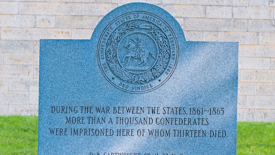 A memorial to dead Confederate soldiers on an island in Boston Harbor will be removed this weekend.