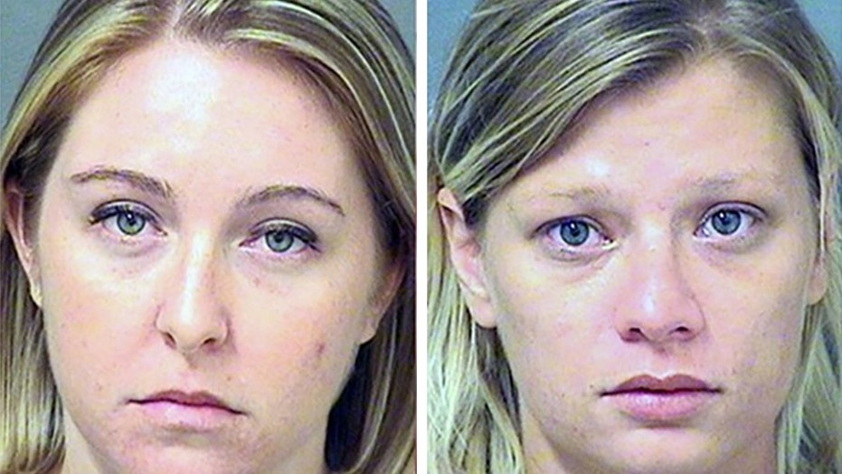 Mugshots for Kristen Leigh O'Connor and June Ann Schweinhart