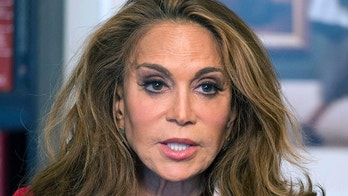 FILE - In this May 7, 2015 file photo, Pamela Geller speaks during an interview at The Associated Press in New York. David Wright, accused of participating in a plot to behead Geller, testified Wednesday, Oct. 11, 2017, during his terrorism support trial in Boston that he was living in a fantasy world and never intended to hurt anyone. The plot was never carried out. (AP Photo/Mark Lennihan, File)