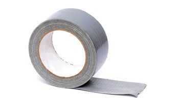 roll of duct tape white background