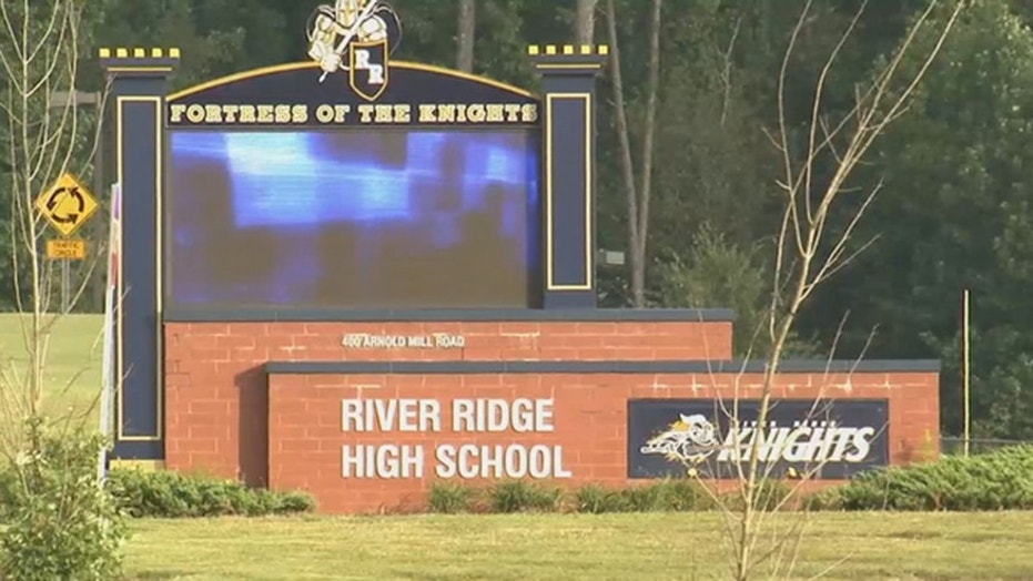 "A teacher at River Ridge High School in Woodstock, Ga., resigned amid controversy over pro-Trump ""Make America Great Again"" T-shirts."