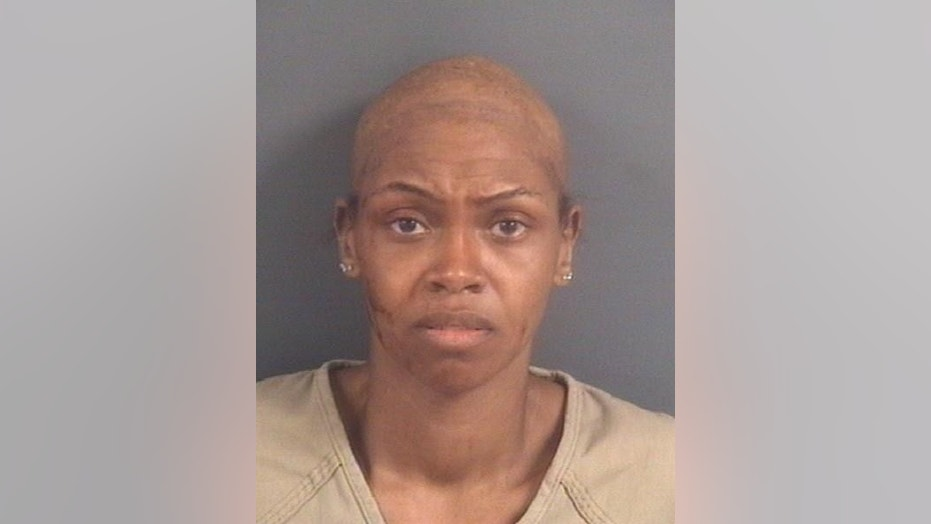 Crystal Matthews has been accused of murder in the death of her 9-year-old son in a North Carolina hotel room.