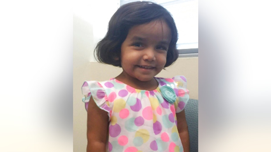 Police in Texas believe they have found the body of missing 3-year-old Sherin Mathews.