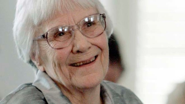 FILE 2007:  Author Harper Lee smiles during a ceremony honoring the four new members of the Alabama Academy of Honor at the Capitol in Montgomery, Ala.