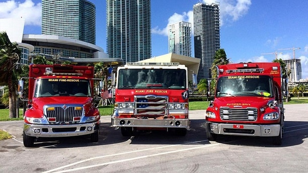 Miami firefighters dismissed after noose appears hanging over black colleague's photos