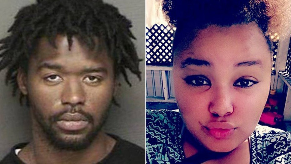 Police suspect Aleaya Marie Jackson, 16, was murdered by her family friend Larry Darnell Peavy.