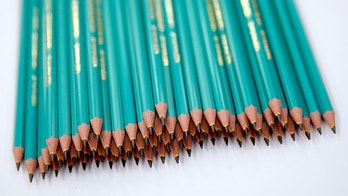 Graphite pencils are pictured at the BIC ballpoint pens factory in Montevrain, France, October 27, 2016. REUTERS/Benoit Tessier - D1BEUJKJGJAB