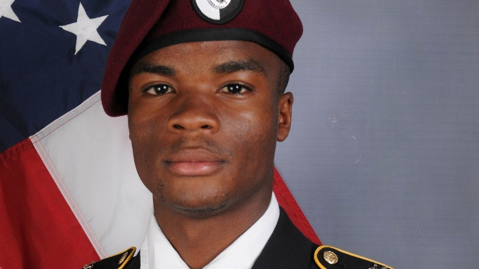 FILE: U.S. Army Sergeant La David Johnson, who was among four special forces soldiers killed in Niger