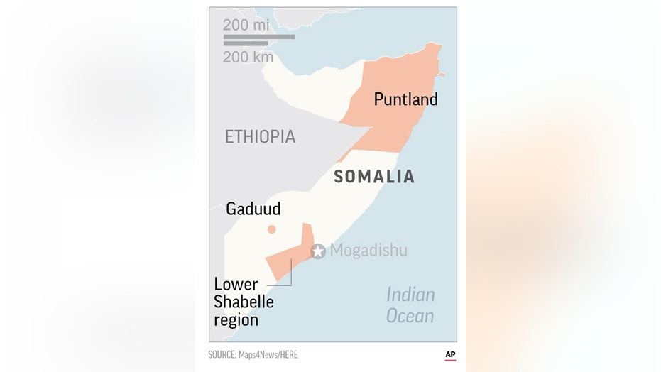 US Carries Out Drone Strikes Against Extremists In Somalia Fox - Us drone strikes map