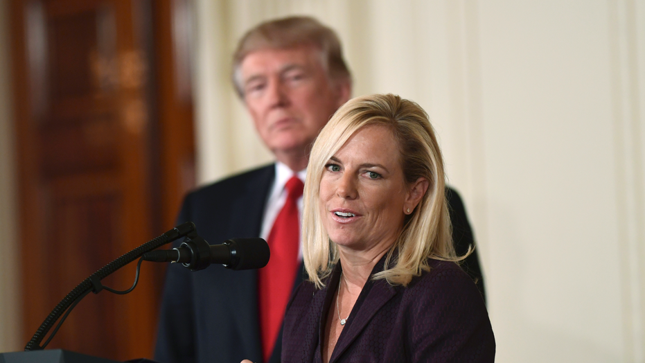 Homeland security panel approves nomination of Kirstjen Nielsen for DHS chief