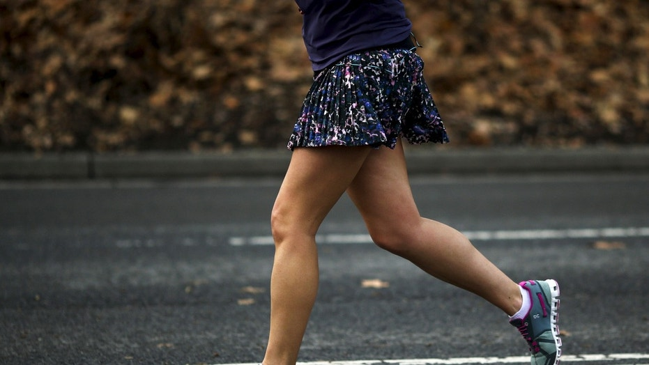 FILE: A woman in Utah fought back when a man tried to grope her during a morning run.