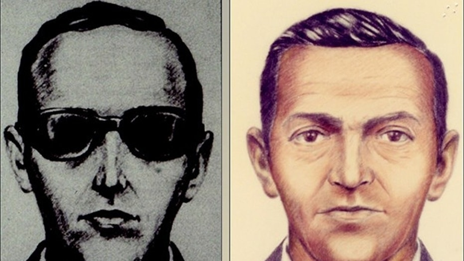 FBI released these sketches after a man named D.B. Cooper hijacked a plane flying from Portland to Seattle on Nov. 24, 1971 and then parachuted out the back door with $200,000, never to be seen again.