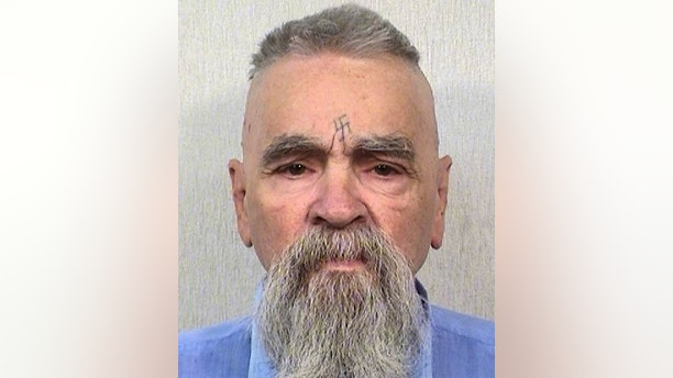 FILE - This Oct. 8, 2014 photo provided by the California Department of Corrections shows Charles Manson. Authorities say Manson, cult leader and mastermind behind 1969 deaths of actress Sharon Tate and several others, died on Sunday, Nov. 19, 2017. He was 83. (California Department of Corrections and Rehabilitation via AP, File)