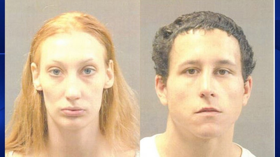 Kayla Noel-Brown, left, and Markell Cruz, right, were arrested by authorities on Nov. 25 for robbing a 92-year-old woman.