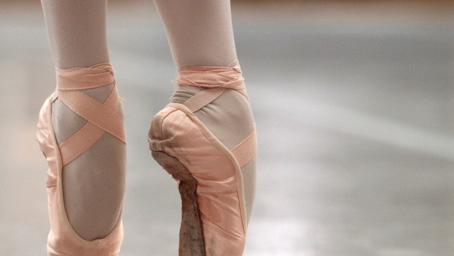 A ballet dancer performs during a class in Lausanne, Switzerland, Feb. 1, 2011.