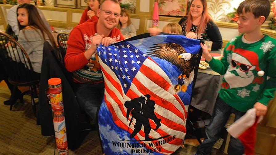 Wounded Warrior Project gives Ohio families a Christmas to remember