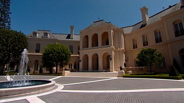 A view of Candy Spelling's 57,000 square foot mansion is seen in this undated still image taken from video. The mansion, featuring 123 rooms, has been sold to 22-year-old British heiress Petra Ecclestone, according to published reports on June 14, 2011. The home, in the Holmby Hills section of Los Angeles, was the highest priced piece of real estate in the U.S., listed for $150 million. The final selling price for the estate, on the market since March 2009, has not been disclosed. REUTERS/Reuters TV  (UNITED STATES - Tags: ENTERTAINMENT BUSINESS) FOR EDITORIAL USE ONLY. NOT FOR SALE FOR MARKETING OR ADVERTISING CAMPAIGNS. THIS IMAGE HAS BEEN SUPPLIED BY A THIRD PARTY. IT IS DISTRIBUTED, EXACTLY AS RECEIVED BY REUTERS, AS A SERVICE TO CLIENTS - GM1E76F0IFI01