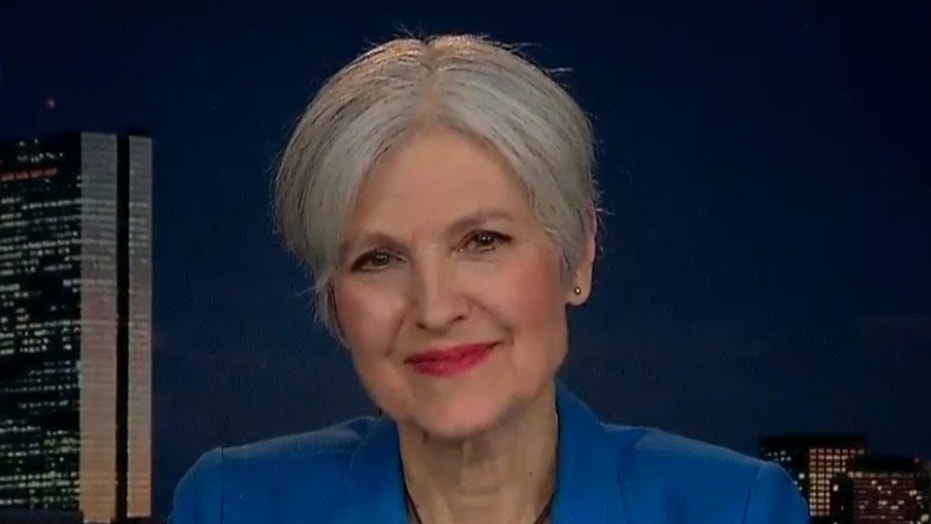 "Former Green Party presidential candidate Jill Stein told Fox News Thursday night that Americans ""have yet to see the proof"" that Moscow meddled in last year's election."