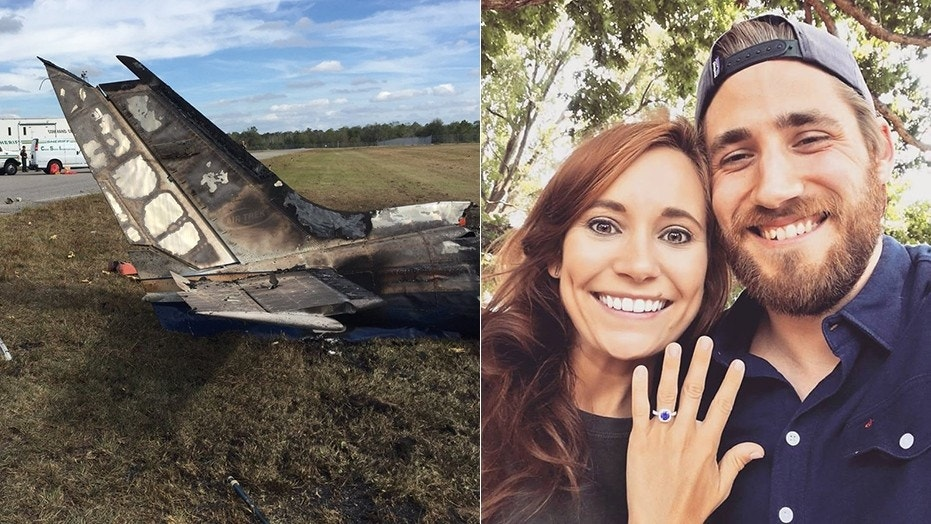 The victims of the Florida plane crash included Victoria Shannon Worthington, 26, and her husband, Peter Worthington Jr., 27.