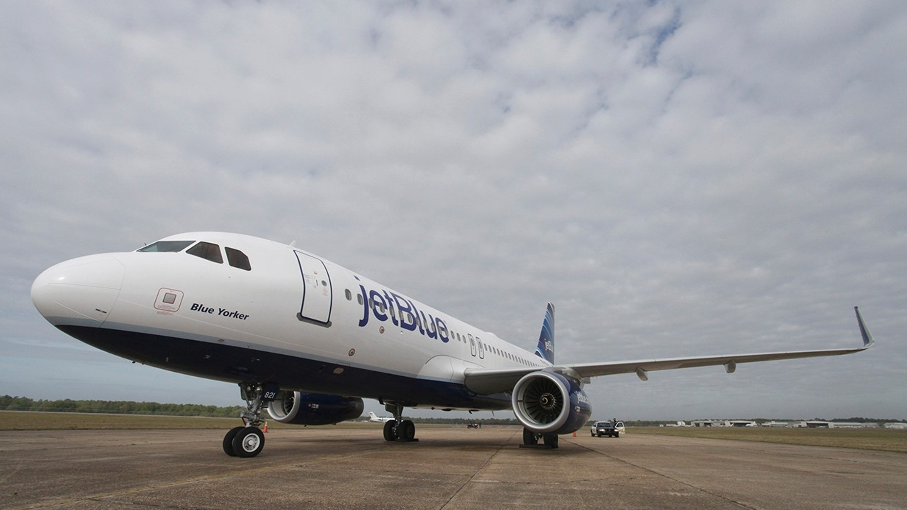 JetBlue Plane Slides off Taxiway at Boston Airport