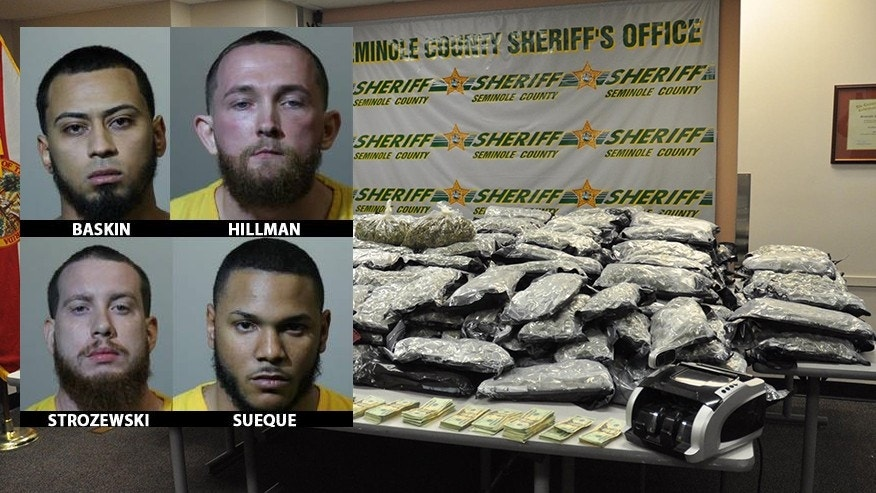 Police: Stolen vehicle search uncovers 430 pounds of marijuana worth $1.2M