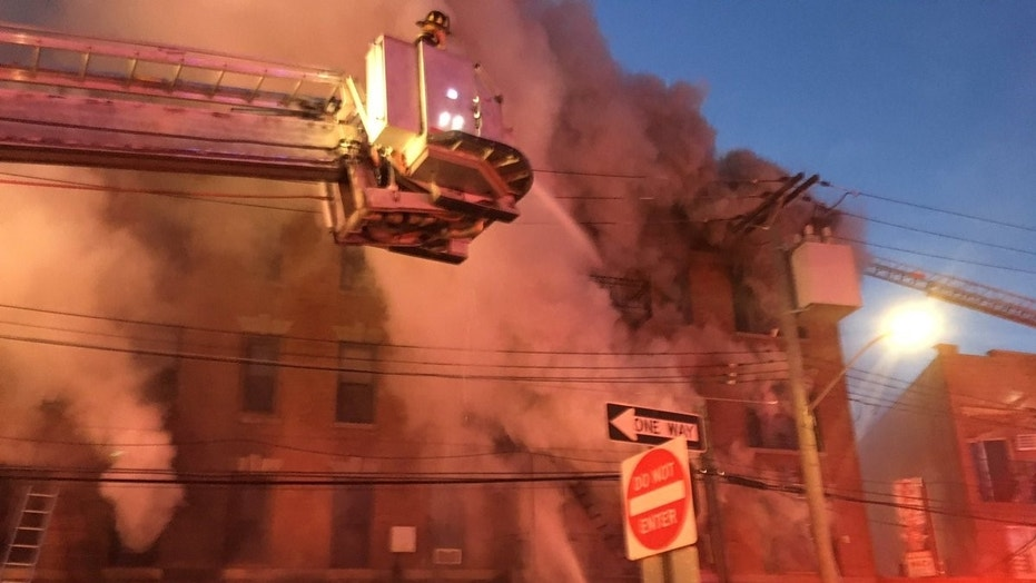 At least 12 injured after fire breaks out at Bronx building