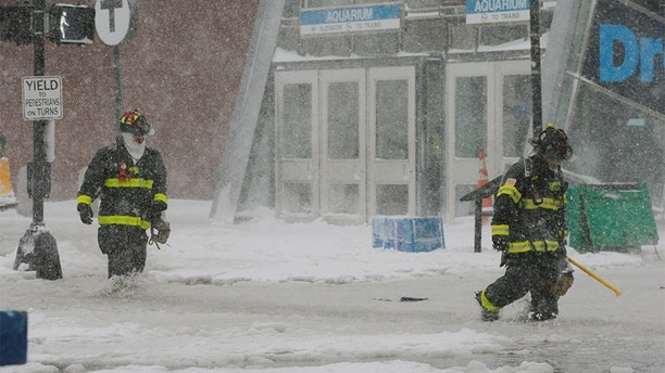 Winter Storm Brings Major Flooding to Massachusetts' Coastlines
