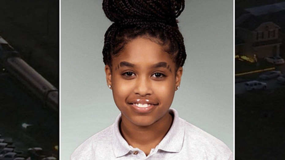 Yazmin White, 11, was struck and killed by an Amtrak train while walking home Wednesday.