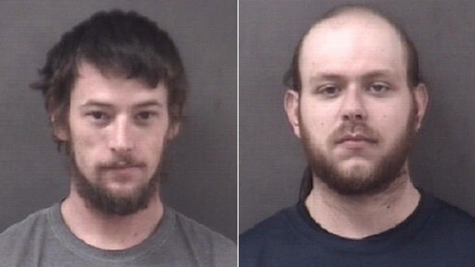 Gregory Ulrich, left, is accused of ripping the heads off of chickens after being driven around by John Budnovitch.