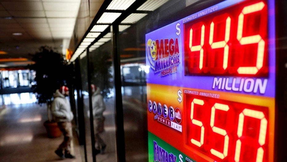 Lottery Jackpots rise to near record highs
