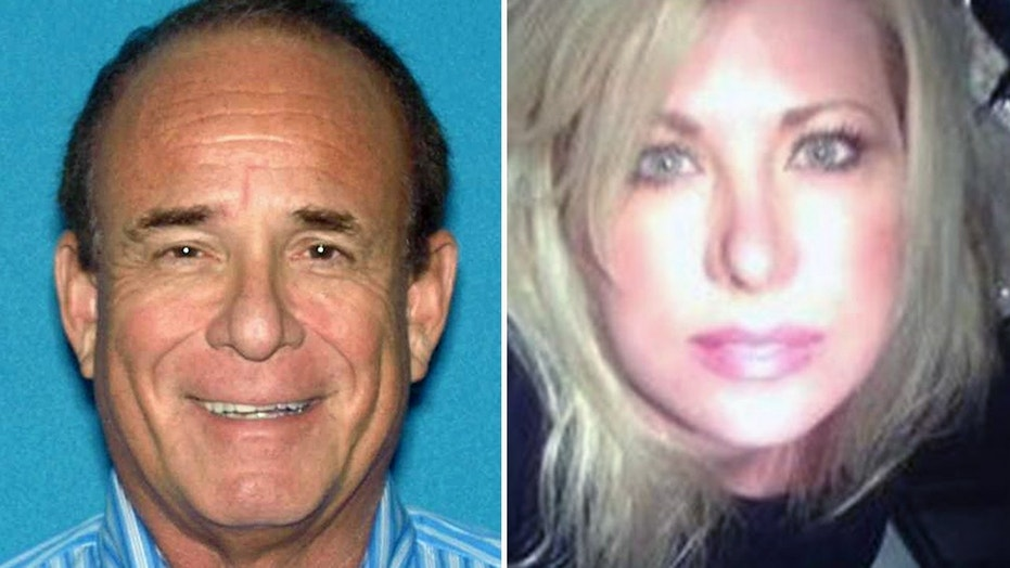 James Kauffman, left, is accused of hiring a hit man to kill his wife, radio host April Kauffman, in May 2012 to preserve a prescription drug ring.