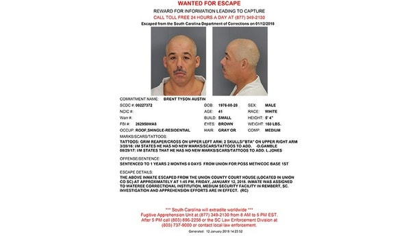 brent tyson austin wanted poster