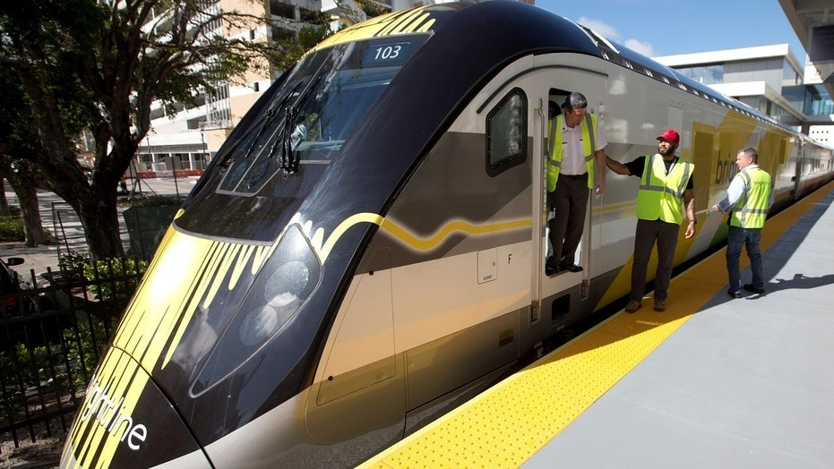 The Brightline train doing a preview run struck and killed a Florida woman attempting to beat the train