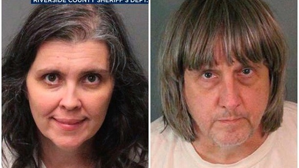 Louise Anne Turpin and David Allen Turpin were each being held on bail of $12 million