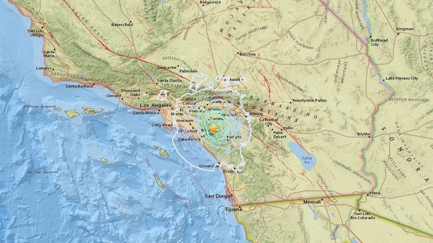 Magnitude 4.0 quake strikes near Trabuco Canyon, CA