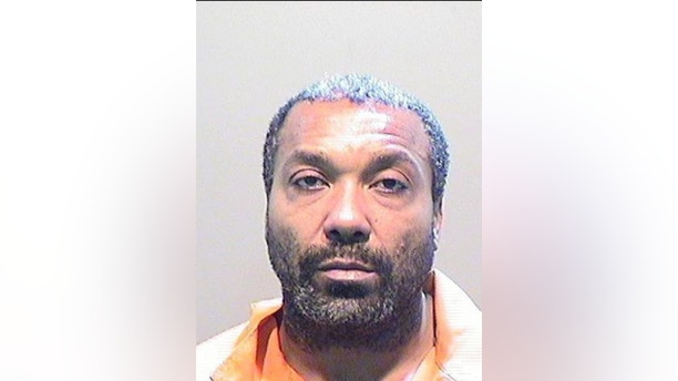Decharlos Brooks, 43, allegedly opened fire on Doss and other officers when they were responding Wednesday night to a domestic violence call. (Image courtesy of the Detroit Police Department)