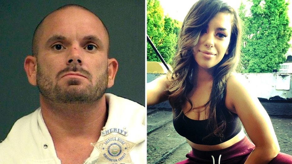 "Jeremiah ""Jeremy"" Johnston, 35, who is a convicted felon who was recently released from prison and moved back in with his mother, is suspected in the slaying of 28-year-old Sara Zghoul, a young model in Oregon, whose dismembered body was found inside luggage packed in the trunk of a BMW last week. (The Washington County Sheriff's Office / Facebook)"